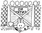 rabbitfence